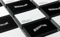 Logo and business card design by Karoshi for Newscope Films