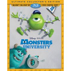 Monsters University (3D Blu-ray Combo) (2013)