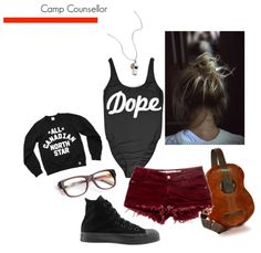 Summer Style Mood Boards: Camp Counsellor