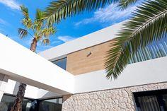 JAIME SALVÁ, Arquitectura & Interiorismo - J580 TWELVE HOUSE Mediterranean Architecture, Modern Architecture House, Interior Architecture, Interior Design, House Outside Design, Small House Design, Technical Architect, Modern Family House, Villa Plan
