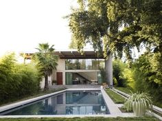 A Great Place of Retreat: Modern Home in St. Helena, California
