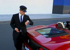 """Everyone was """"uber"""" confused to see Will pull up in a Ferrari to pick them up, but this surprise led to nothing but big smiles and a great story! We think Will might have a future as a professional driver wink emoticon ) Byu Tv, Random Acts, Great Stories, Emoticon, Uber, Confused, Ferrari, Acting, Future"""