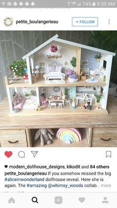Maison de poupées miniature 1:12th échelle Smart TV avec image 3D