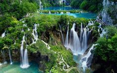 """Split to Plitvice Lakes Tour, one day excursion. Discover why National Park Plitvice Lakes is one of """"must see"""" destinations not only in Croatia but the world. Beautiful Places In The World, Beautiful Places To Visit, Places To See, Amazing Places, Wonderful Places, Beautiful Park, Stunningly Beautiful, Absolutely Gorgeous, Grands Lacs"""