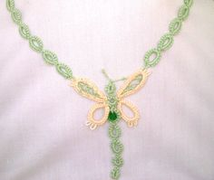 butterfly necklace by SperoDesignsRomania on Etsy