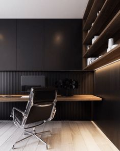 Find the best idea to make a home office for two. Sharing a home office sounds later a good idea at first glance. It saves going on plenty of atmosphere and instead of having to make two oscillate rooms. Home Office Setup, Home Office Lighting, Home Office Space, Home Office Furniture, Office Ideas, Furniture Ideas, House Lighting, Small Office, Modern Office Design