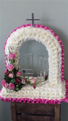 Gates Of Heaven Funeral Flower Tributes