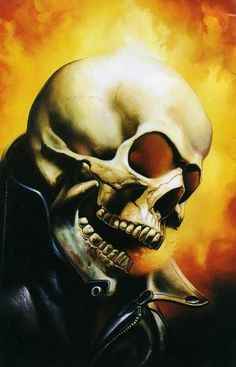 Ghost Rider see the tattoo based on this art elsewhere in my GR folder! #ghostrider