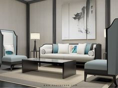 廊桥沙发组 - 新波普 - 视觉传媒家具