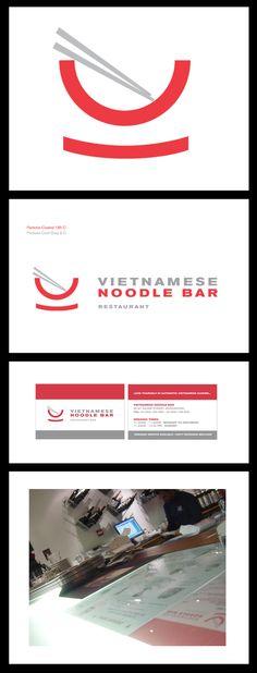 Vietnamese Noodle Bar by Carl Smart, via Behance
