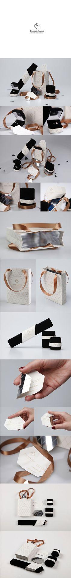 Hearts & Arrows by Kir Rostovsky #packaging #branding #marketing PD