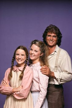 Melissa Gilbert Melissa Sue Anderson and Michael Landon Michael Landon, Melissa Sue Anderson, Melissa Gilbert, Ingalls Family, House Star, Paddy Kelly, Laura Ingalls Wilder, Child Actors, Old Tv Shows