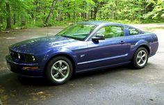 Sonic Blue 2005 Mustang GT