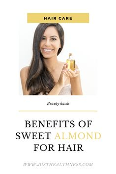 Benefits Of Sweet Almond For Hair Argan Oil For Hair Loss, Best Hair Loss Shampoo, Castor Oil For Hair, Normal Hair Loss, Stop Hair Loss, Hair Loss Causes, Prevent Hair Loss, Home Remedies For Hair, Hair Loss Remedies