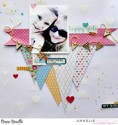 happy girls - Cocoa Vanilla Studio - Scrapbook.com