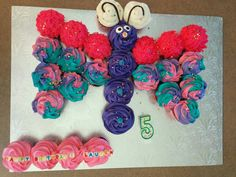 Butterfly #2 cupcake cake