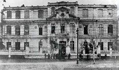 Antiguo Instituto Pedagógico de Chile : Alameda con Cumming, Santiago, 1920