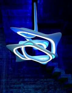 The Vortex Chandelier By Zaha Hadid   Design