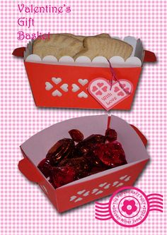The Papercraft Post: Valentine's Gift Basket