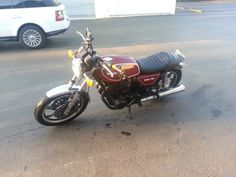 This is actually My Motorcycle. I like bikes what can I say. I started to fall in love with the old motorcycle look with the Cafe Racer Twist. I began to deconstruct the original factory bike and sta...