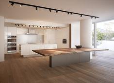 オーダーキッチンのクチュールブランド|アムスタイル|東京&福岡 Timber Kitchen, Loft Kitchen, Kitchen Board, Kitchen Tops, Kitchen Interior, Kitchen Dining, Kitchen Decor, Küchen Design, House Design