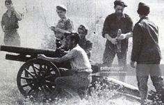 Spain - 1937. - GC - Republican position at the Battle of Brunete (6 July – 25 July 1937), Fought 15 miles west of Madrid, was a Republican attempt to…