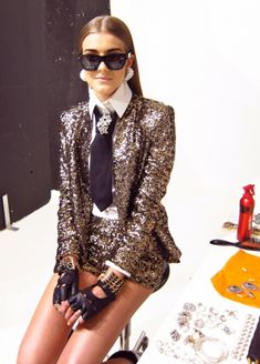 Karl Lagerfeld Style.