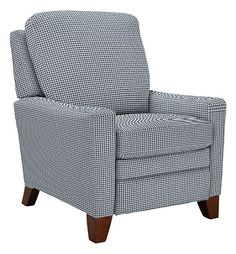 Cabot Low Profile Recliner by La-Z-Boy Square pegs navy