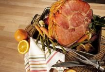 Low-sugar Citrus Spice Ham Glaze with steviacane #Easter #Thanksgiving #Christmas #ImperialSugar