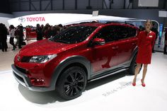 2013 #Toyota RAV4 Adventure - front three-quarter view, Geneva Motor Show reveal