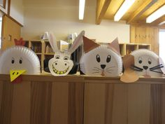 The Bremen-Town Musicians masks