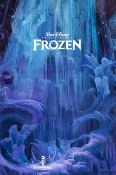 Disney Revival Era concept art as posters: Frozen Princesa Disney Frozen, Disney Frozen Elsa, Disney Magic, Disney Movie Posters, Disney Films, Disney Pixar, Frozen Pictures, Walt Disney Pictures, Frozen Wallpaper