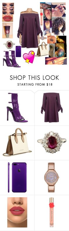 """""""Untitled #176"""" by ayannalovebug on Polyvore featuring Gucci, TIBI, Strathberry, Michael Kors, Sibling, French Kiss and Victoria's Secret"""