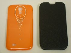 Samsung Galaxy S4 phone case holiday super sale 2 for only $20 - Orange/M. Black colors, Super saving!!!