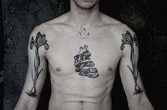 """sv-a: SV.A Pair finished tattoo """"Iris"""""""