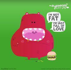 food VS love