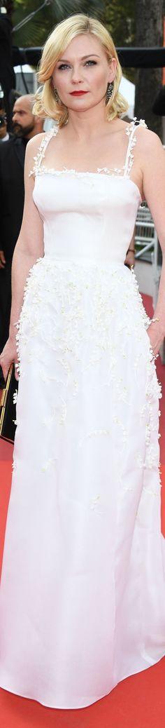 Kirsten Dunst in Dior, Cannes 2016