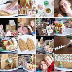 A Very Merry Christmas!! (and how we make our gingerbread houses)