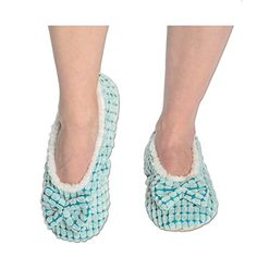 Womens Chic-lets Snoozies Ballerina Slippers with Comfort Fit Sole >>> Want additional info? Click on the image.