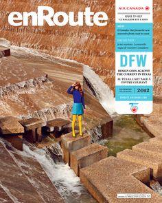 Enroute Magazine Dallas Editorial by Julia Galdo, via Behance