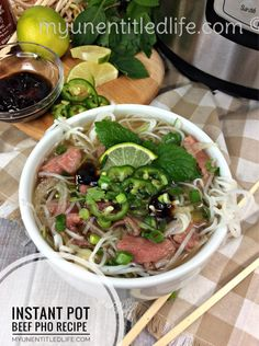 are you looking for a delicious beef pho recipe to make that is easy too? Why not try my instant pot beef pho recipe and see what you've been missing! Instant Pot Pressure Cooker, Pressure Cooker Recipes, Pressure Cooking, Slow Cooker Pho Recipe, Slow Cooking, Pho Recipe Easy, Instant Pot Pho Recipe, Pho Beef, Asian Recipes