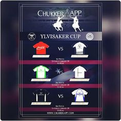 Today 2nd #date of 2017 #Ylvisakercup @PoloAssociation with three #polomatches Get instant #scores with our #freeapp, @chukkerapp!