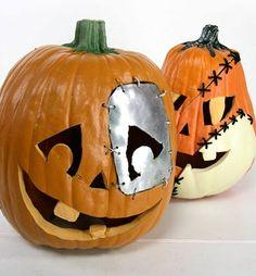 metal yard pumpkins - Google Search