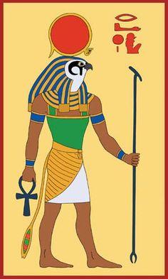 Egyptian God Ra by Tutankhamun.deviantart.com on @deviantART