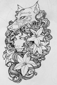 Tattoo design - Laureline Paris