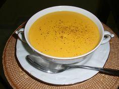 Crema de zanahorias y calabacín