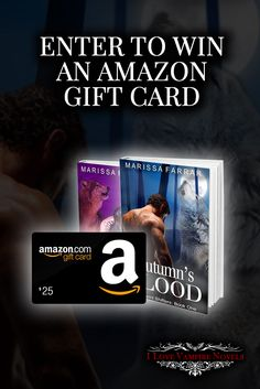 Win $25, $10 & $5 Amazon Gift Cards from Bestselling Author Marissa Farrar