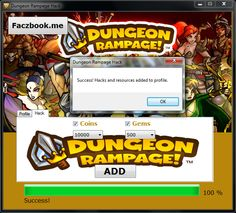 Dungeon Rampage coins and gems