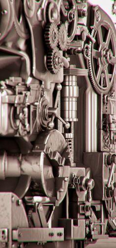 3D Printer by Andrei Lacatusu, via Behance