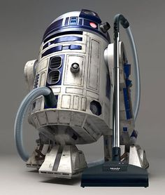 I might actually vacuum if I had this! #starwars